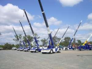 Crane Hire Fleet 2