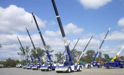 Crane Hire Brisbane